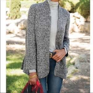 Soft Surroundings St James Open Front Blazer